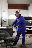 Concentrated mechanic using a computer