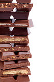 Frame of Chocolate Blocks