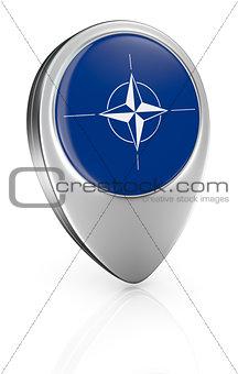 flag of Nato