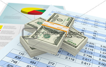 us dollars and financials documents