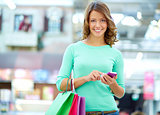 Texting shopper