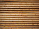 wall made of wooden logs background