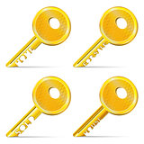 Set of Gold Keys