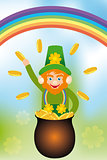 Card for Saint Patrick's Day