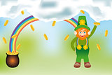 The gold of the Leprechaun