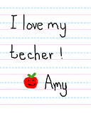 Apple a Day for Teacher