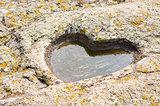 stone granite heart