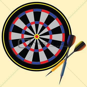 Target darts