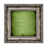 frame with green canvas