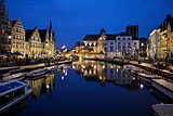 Ghent/Gent evening shot