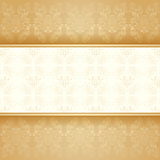 Background golden decorative
