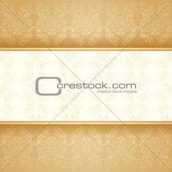 Background golden decorative