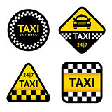 Taxi - set stickers