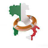 Lifebelt for Italy