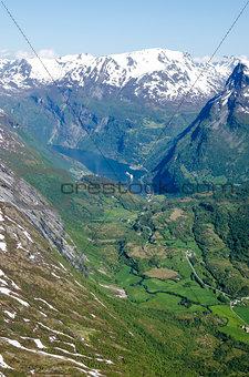 Norway Hellesylt - Geiranger