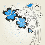 Blue flower2
