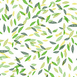 Green leaves background seamless.