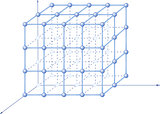 Molecular crystalline lattice