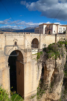 Very famous bridge in Ronda