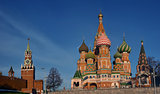 Moscow Kremlin and St. Basil&#39;s Cathedral