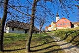 Town of Varazdinske toplice center park