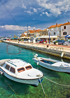 Adriatic town of Biograd na moru waterfront