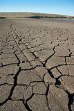 Dry earth, mud, cracked earth
