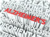 Alzheimer Concept.