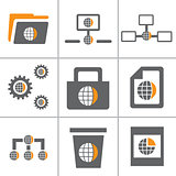Globe Web Icon Set Part 3