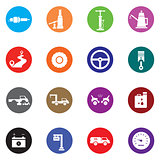 Auto Mobile Icon Set