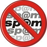 Caution - do not send spam