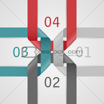 Abstract web template.