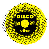 disco vibe stamp
