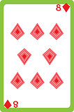 eight of diamonds