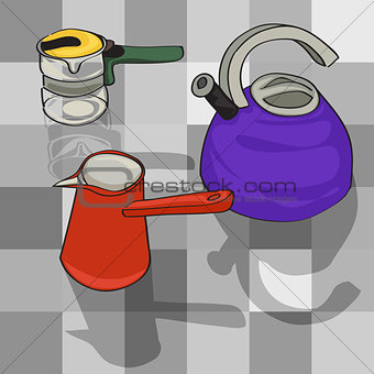 kitchen kettles