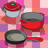 kitchen pans