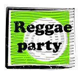 reggae party stamp