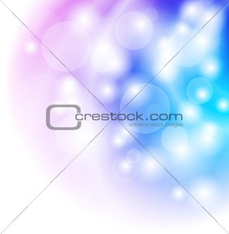 Bright shiny vector background