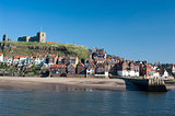 Whitby in North Yorkshire