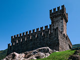 Sasso Corbaro castle.