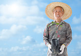 Asian farmer