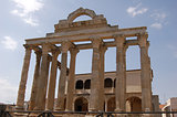 Temple of Diana in Merida (Spain)