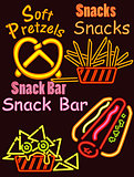 Neon Lights Snack bar 1