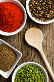 Various spices.
