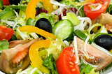 Background of Vegetable Salad