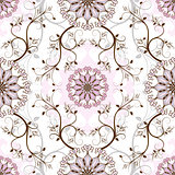 Pastel seamless pattern