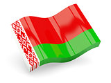 3d flag of Belarus