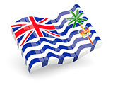 3d flag of British Indian Ocean Territory