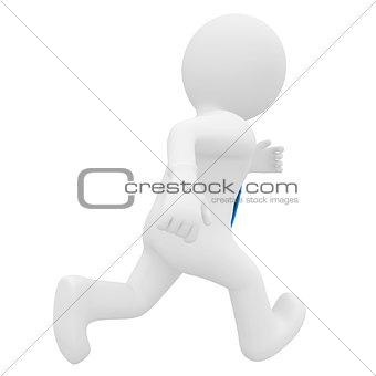 3D man running