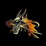 Dragon Tattoo Gold